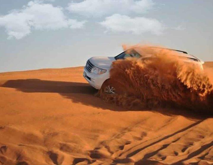 Dune Bashing Desert safari 4x4