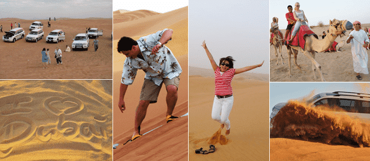 desert safari activities and inclusions