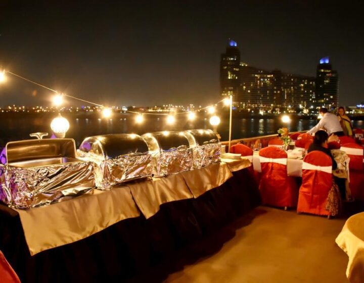 DHOW-CRUISE Dinner-DUBAI-CANAL